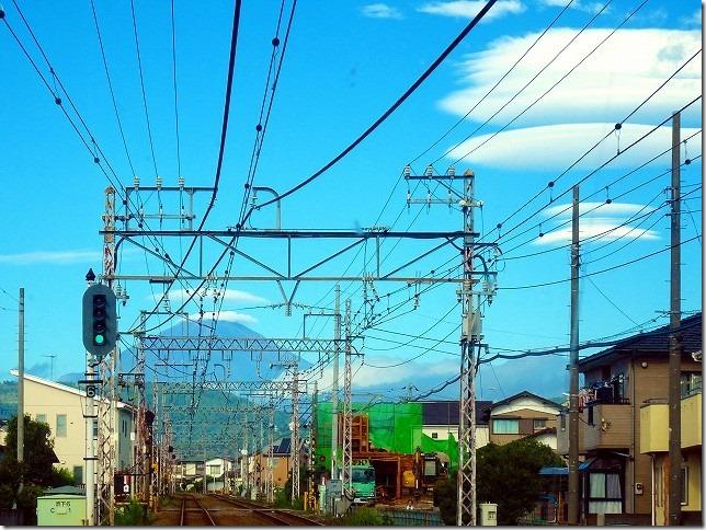 富士山 笠雲 つるし雲
