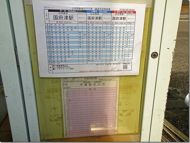 神奈川中央交通 小田原駅 平塚駅 バス