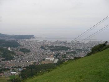 天狗山から町.JPG