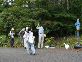 富士山中腹種取.JPG