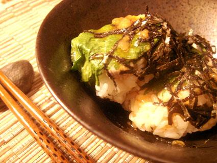 20080825 しそとばら肉のてごね寿司.jpg