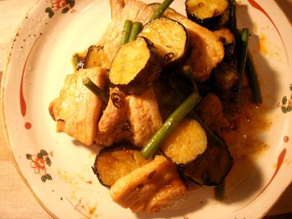 20080913 豚バラと茄子の豆板醤炒め3.jpg