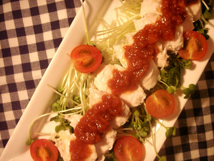 20081101 鶏ささみの梅ソース3.jpg