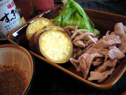 20110625 蒸し野菜 ごまだれ風.jpg