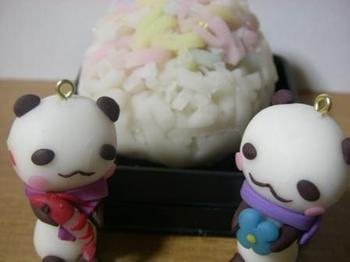 上生菓子とパンパンちゃん20130114.JPG