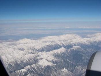 飛行機の窓から20130113.JPG