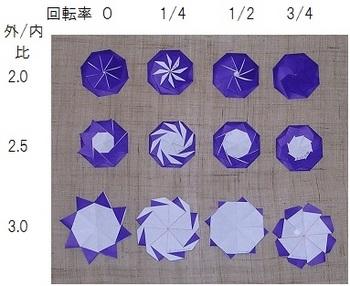 ハート 折り紙:折り紙 八角箱 折り方-blog.so-net.ne.jp