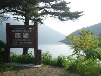 西湖ヒメマス釣りとキャンプ