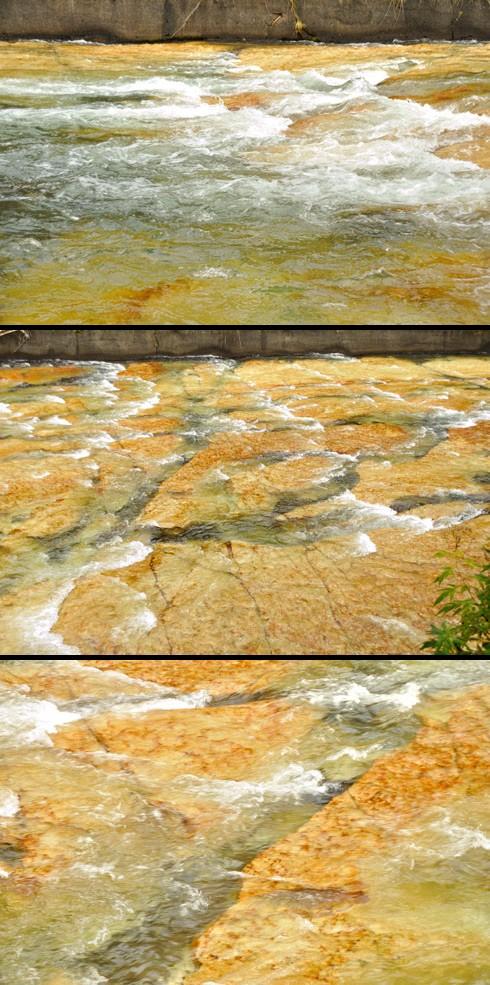 凝灰岩っつーか流紋岩です。
