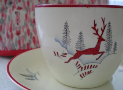 Crown Devon Stockholm cup and saucer