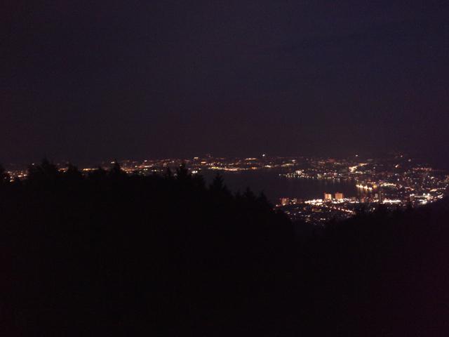 四明が嶽(山頂)夜景