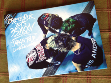 "ONE OK ROCK 2015 ""35xxxv""JAPAN TOUR LIVE&DOCUMENTARY 表"