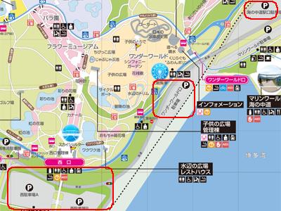 中 海浜 の 公園 道 海