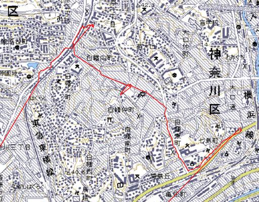 京浜急行子安駅と、 東京 急行 ...