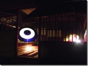 高台寺のライトアップ時雨亭1階