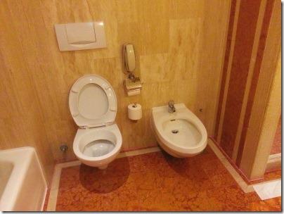 マリーナマンダリンのトイレとビデ
