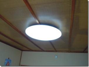6畳の和室に設置したパナソニックのLEDシーリングライト