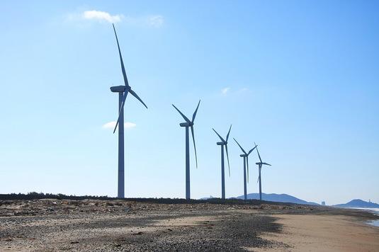 渥美半島の風車