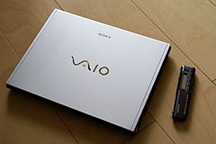 男のコダワリの「VAIO type G」