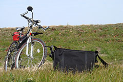 自転車写真遠足の練習