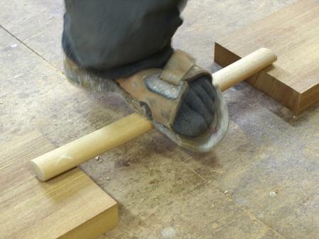 木工家、国本貴文、ダイニングチェアーの製作工程、前足ー12.jpg