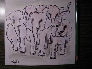angry elephants heading for the Oppel factory.JPG