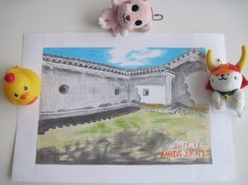 姫路城の狭間.jpg