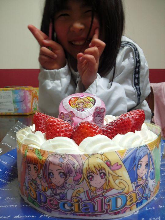 ドキドキプリキュアケーキ6