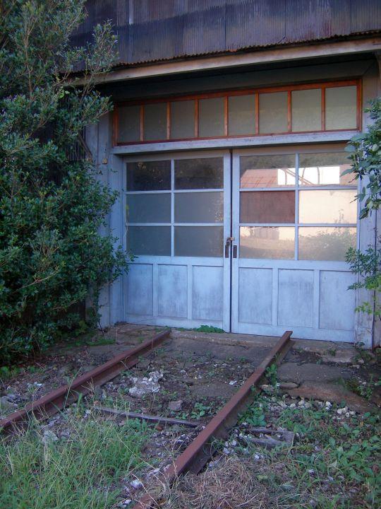 廃墟@上総鶴舞駅