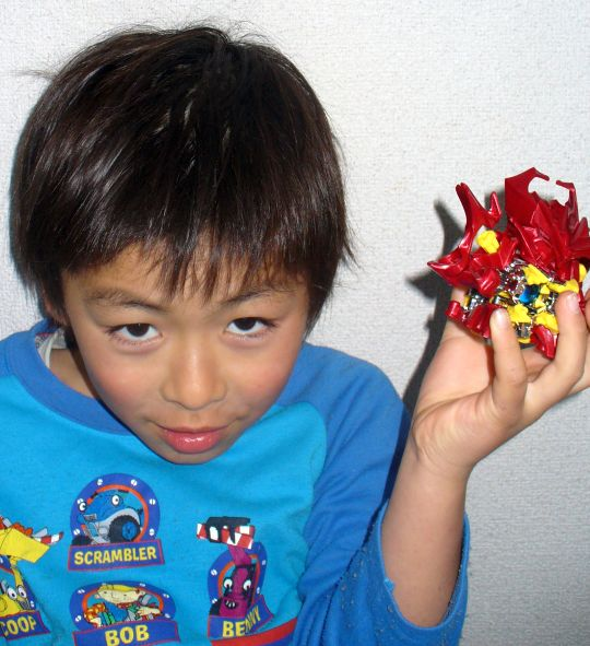 7歳誕生日10