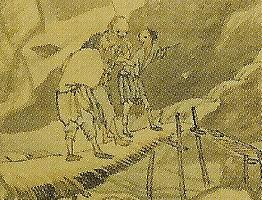 月僊 「山水図」 @東本願寺_部分.jpg