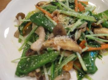 野菜とキノコのホットサラダ♪.jpg