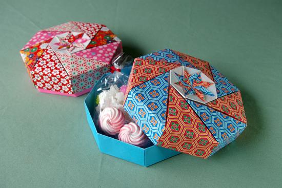 クリスマス 折り紙 折り紙で作る箱 : matome.naver.jp