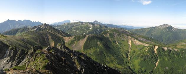水晶岳から.JPG