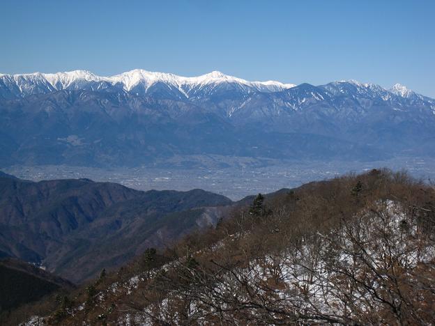 白峰三山と甲斐駒.JPG