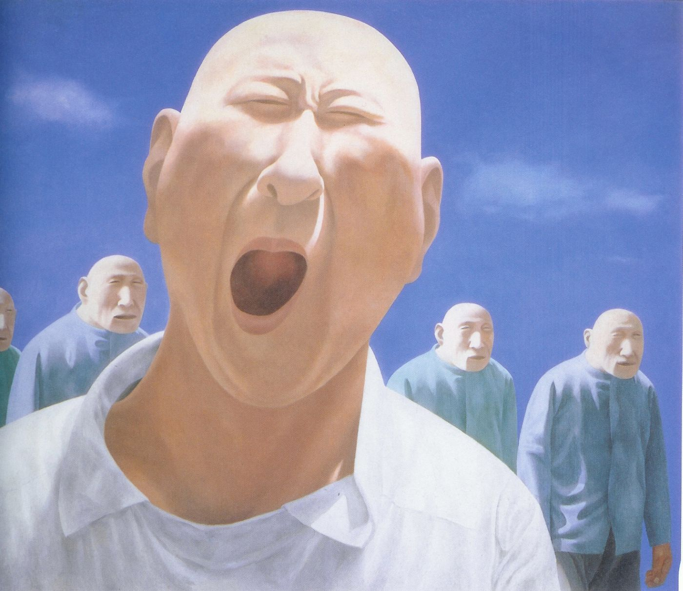 Foto 1. FANG LIJUN, Series2, no. 2, 1991 - 1992, oil on canvas, 200.jpg