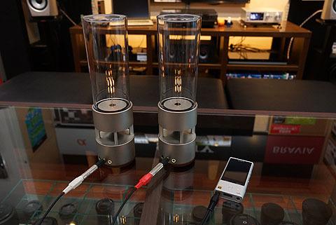グラスサウンドスピーカー Lspx S1 ステレオ再生の展示中です ソニーの新商品レビューを随時更新 ソニーストアのお買い物なら正規e Sony Shop テックスタッフへ
