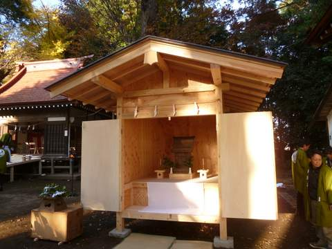 古淵鹿島神社仮殿遷座祭 – 言の葉日記