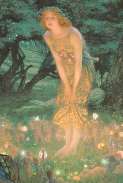 森のこびととお姫様.png
