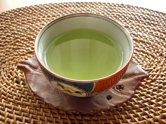 温かい夢緑茶.JPG