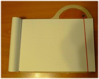 ノートを開いたところ