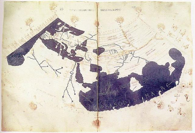 ブログ・プトレマイオスの世界地図(15Cの複製図).jpg