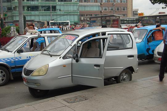 タクシー外観