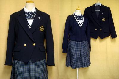 九州文化学園高等学校制服画像