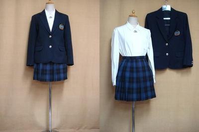 豊見城高等学校制服画像
