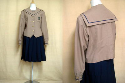 自由ヶ丘高等学校制服画像