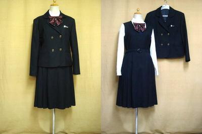 夙川学院高等学校制服画像
