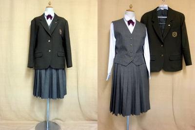 西宮甲山高等学校制服画像