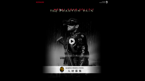 Metal Gear Solid V: The Phantom Pain - Official Site
