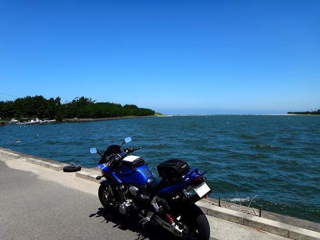 14 青い空と海には青いカワセミ号.JPG